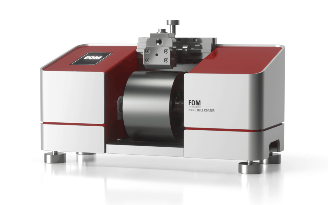 WORLD PREMIERE: THE FOM NANO ROLL COATER