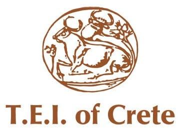 T.E.I. of Crete logo