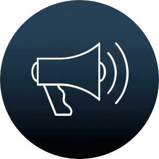 Megaphone ikon