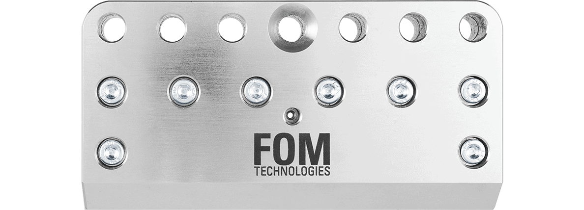 FOM large slot die head