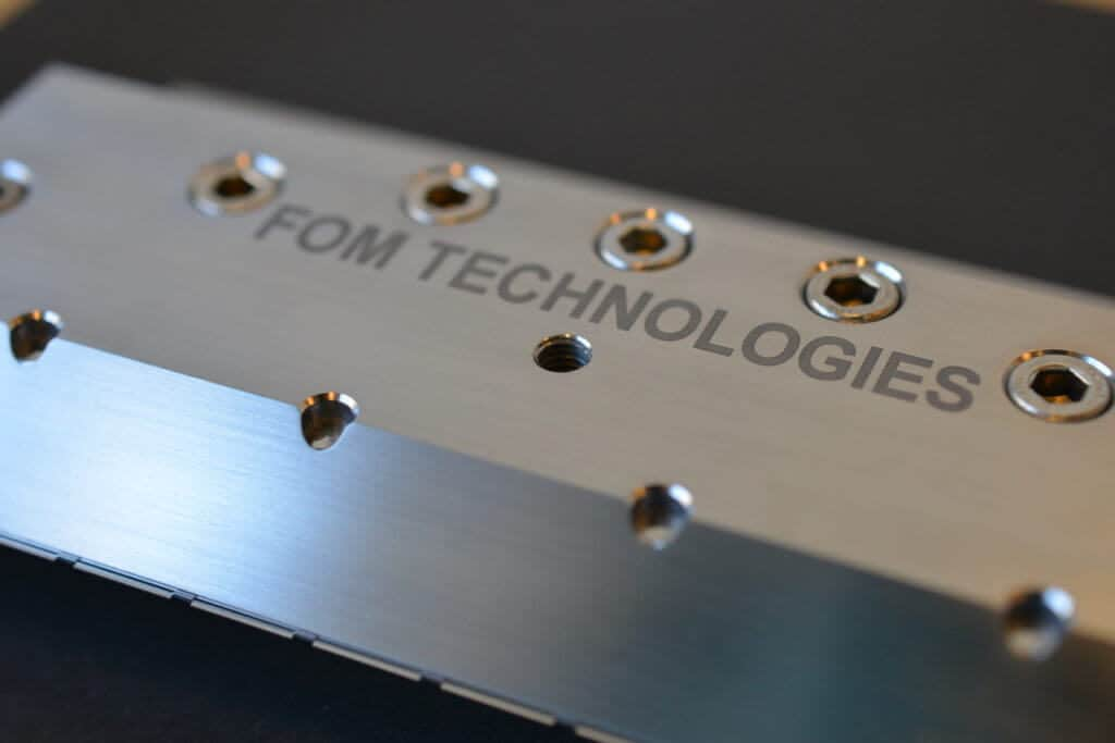 FOM slot die head for the industrial series