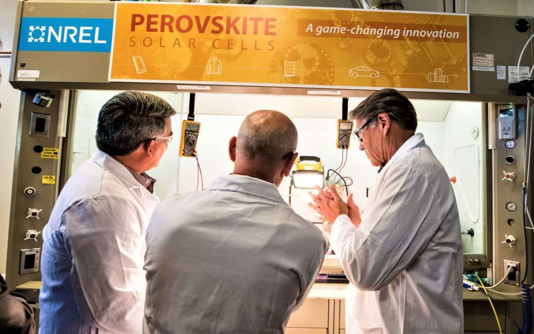 GOOD NEWS FOR SOLAR PEROVSKITES R/D