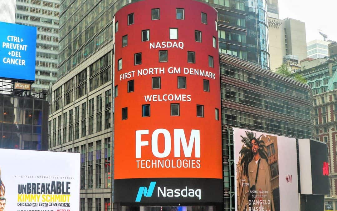 FOM TECHNOLOGIES LISTED ON NASDAQ