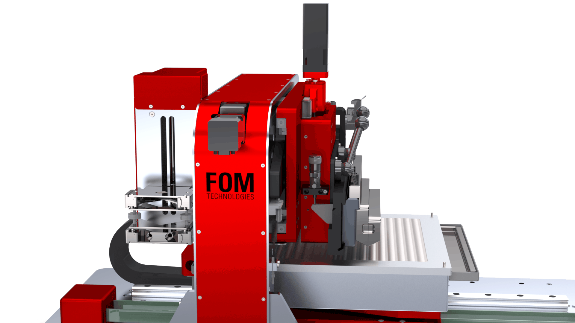 The intergrated pump on the FOM alphaSC