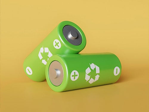 Batteries recycle