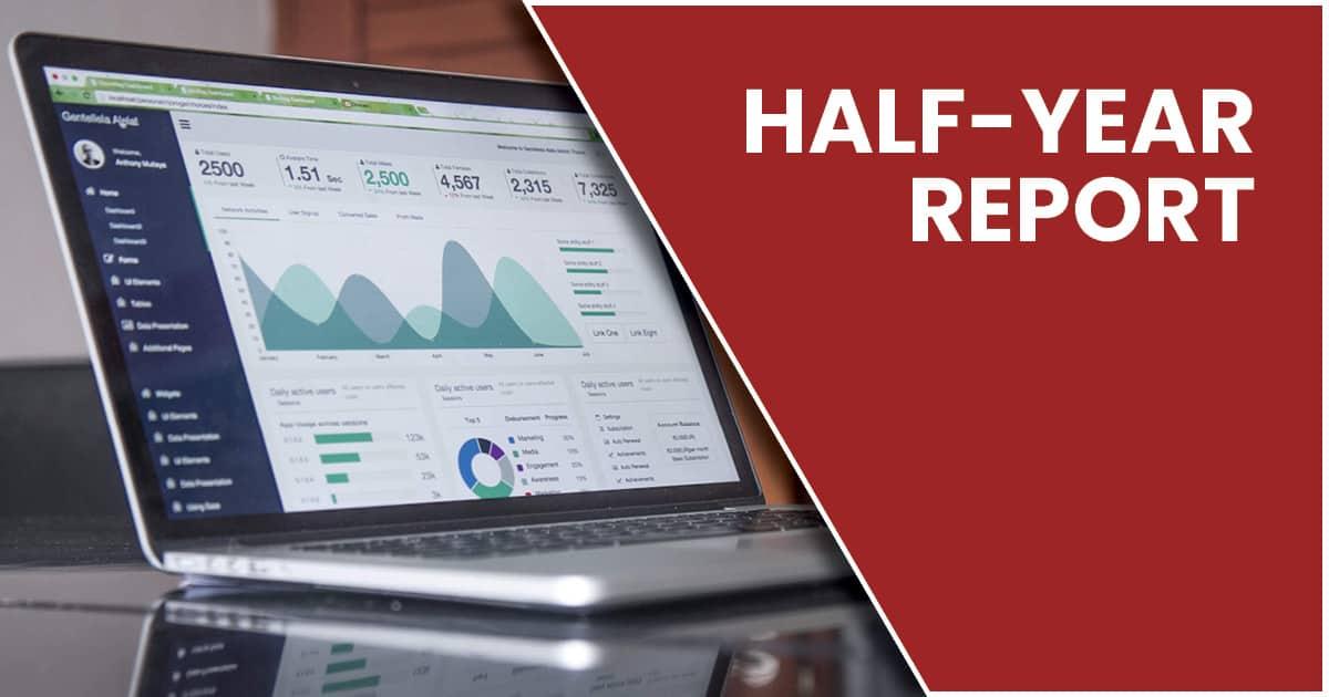 Half-year report